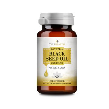 Black Seed Oil  -  90  Vegeterian Capsules